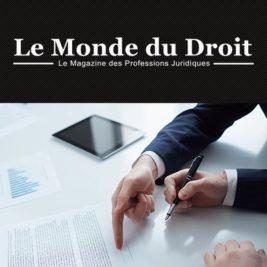 IMMO-FORMATION.FR mis à l'honneur par LE MONDE DU DROIT !